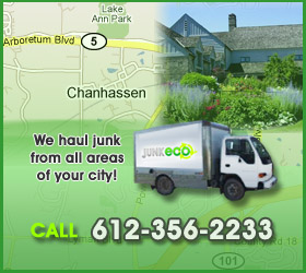 Junk Eco provides Chanhassen junk removal, hauling, disposal, and recycling.