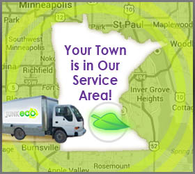 Junk Eco provides the Twin Cities, MN with top-rated junk removal, recycling, and donation services. We care about our local communities and look forward to meeting new customers.