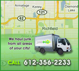 Junk Eco provides Richfield junk removal, hauling, disposal, and recycling.