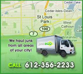 Junk Eco provides St. Louis Park junk removal, hauling, disposal, and recycling.